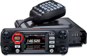 Clip of Yaesu FTM-300 transceiver